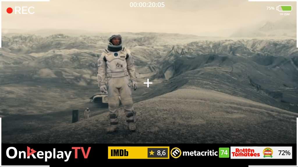 well known best space movie in history - Interstellar