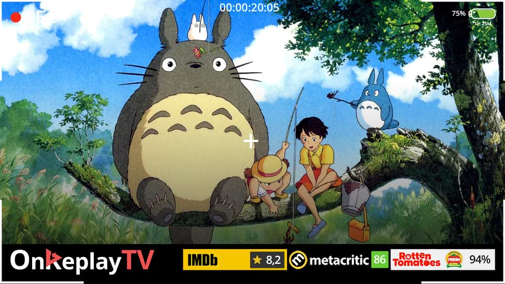 My Neighbor Totoro is one of the best anime movies