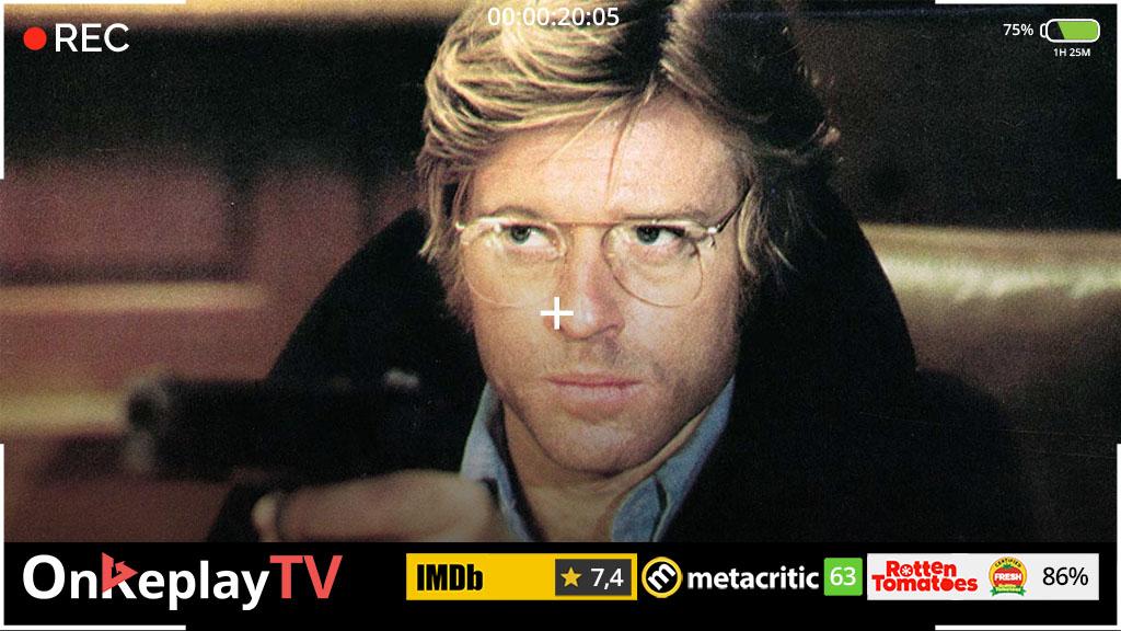 Three Days of the Condor is a good spy movie