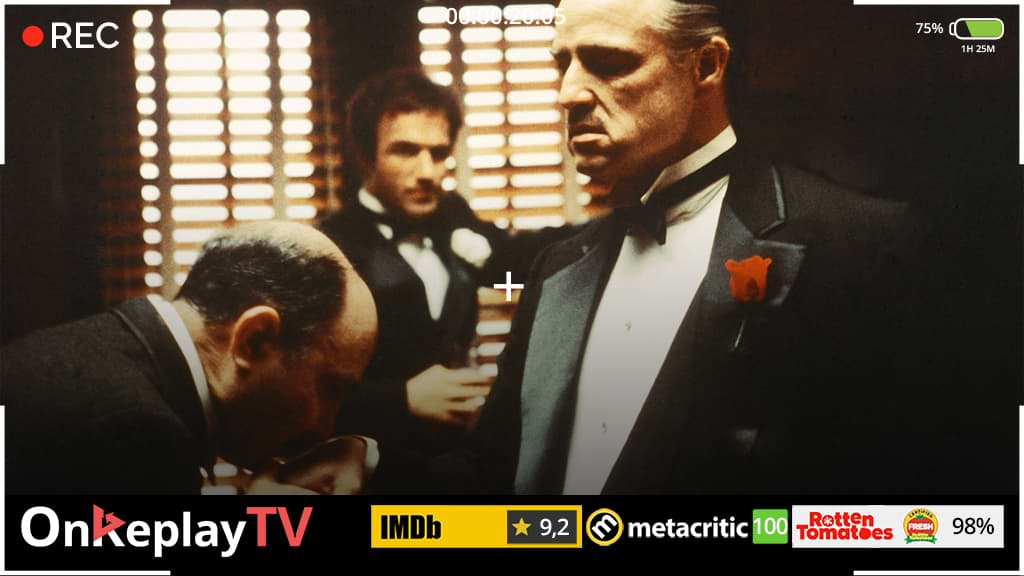 The old best crime movies classic - GodFather