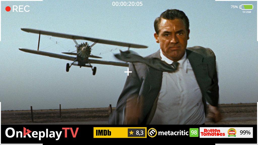 The best spy movie of 60s - North by Northwest