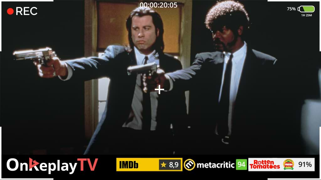 From its name- Pulp Fiction is one of the best crime movies in history