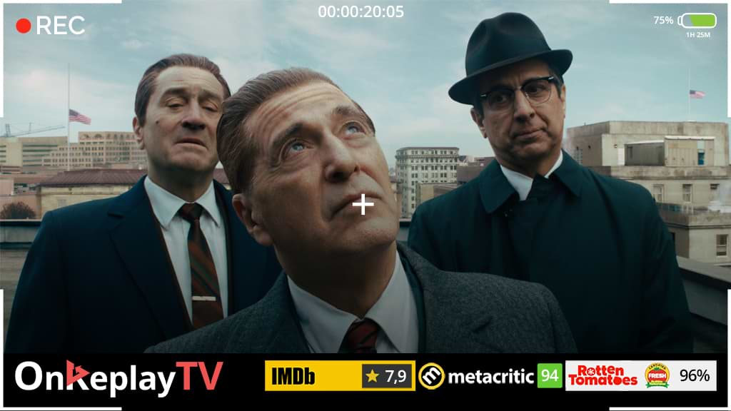 The irishman is best crime movie ever made