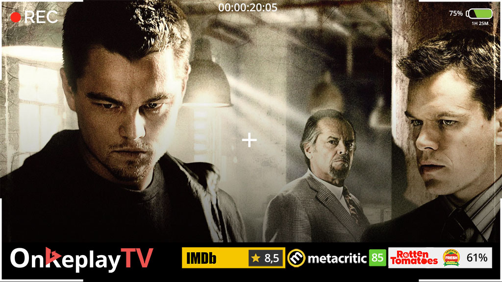 Watch one of the best spy movies - The departed