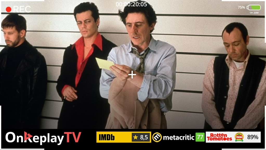 Watch The Usual Suspects, one of the best crime movies