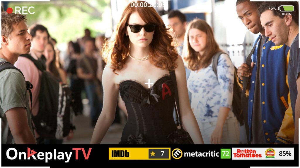 Easy A is the a class romantic comedy