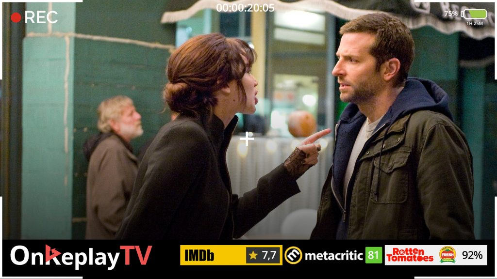 Silver linings playbook is the best rom com