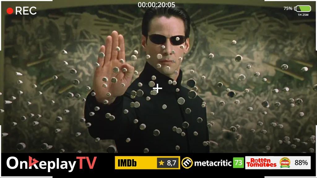 Cyberpunk movie matrix