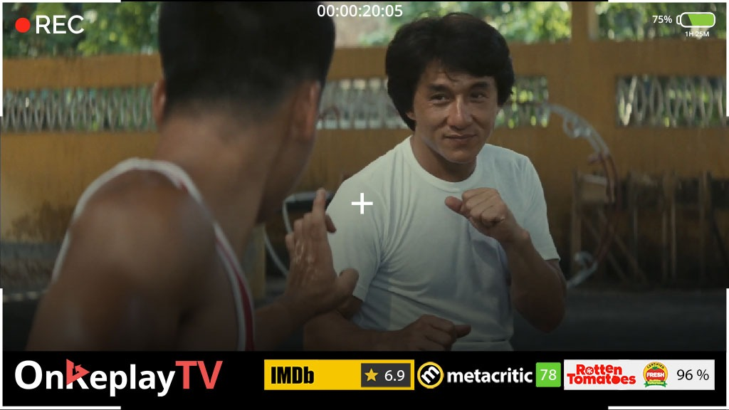 best jackie chan movies in a policy role